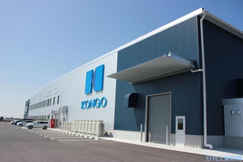 金剛、新工場で生産3割増 IoT連動設備構築