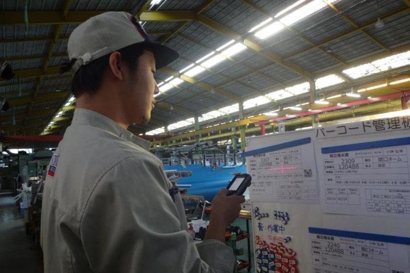 物流改善の新潮流(54)菊川工業 部品の流れ、IoTで見える化