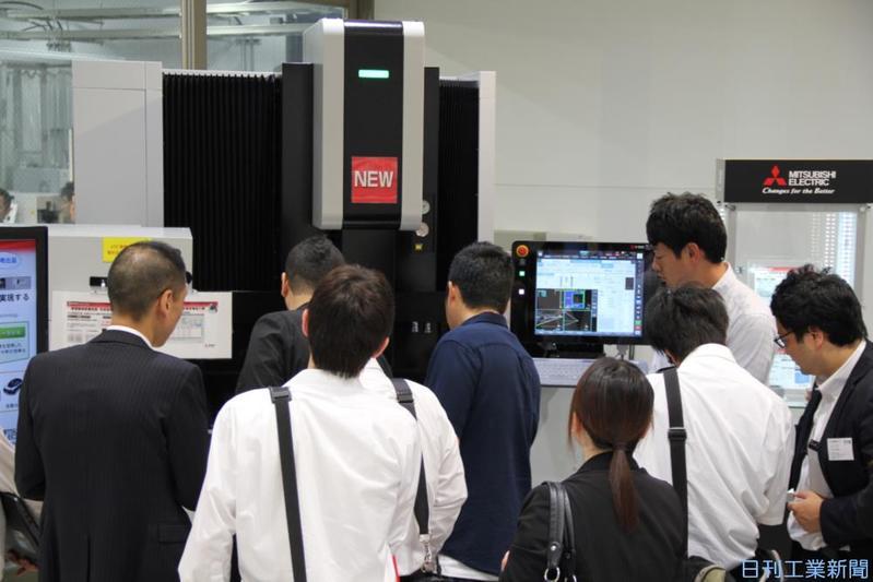 AI搭載機、積極提案 三菱電が自社展開催