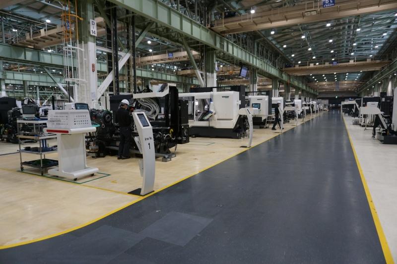 工作機械、相次ぎ値上げ 主要各社が3%、材料高騰に対応