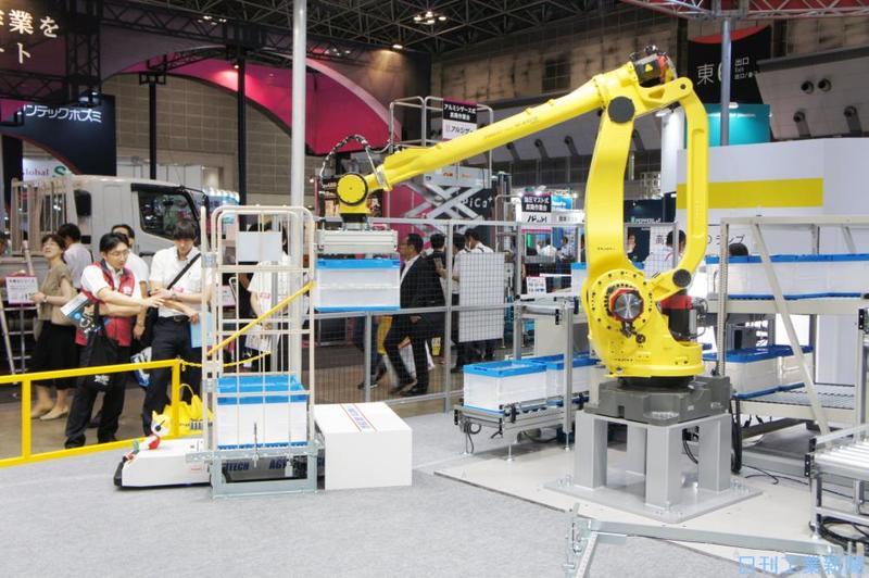 物流業界で進むロボット活用−自...