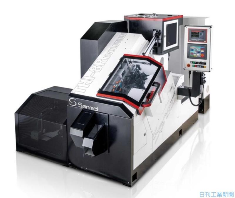 三明製作所、8mmネジ転造機を3割高速化