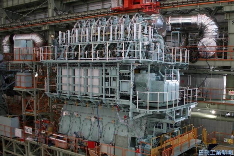 三井E&Sマシナリー、舶用大型エンジン増産 NOx3次規制対応