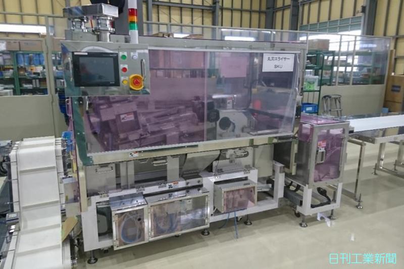 マルカ、食品機械事業の売上高10倍へ パン切断機軸に伸長