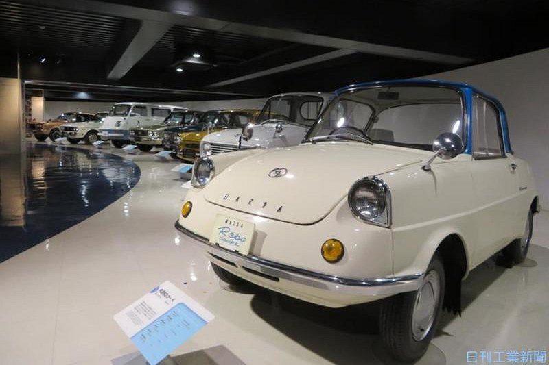 名車で振り返る マツダ100年のモノづくり(2)初の乗用車「R360クーペ」