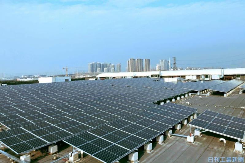 コニカミノルタ、江蘇省工場も再生エネ100% 中国2拠点目・複合機生産