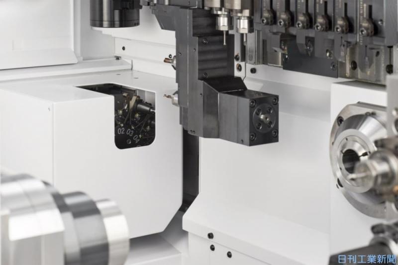 加工径32mm、ATC付き自動旋盤 シチズンマシナリーが来春発売