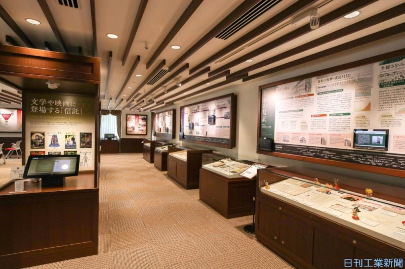 産業博物館を訪ねる/三菱UFJ信託銀行 三菱UFJ信託銀行信託博物館(東京都)
