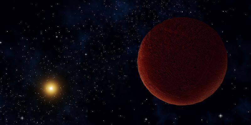 昨秋発見の準惑星候補、直径は冥...