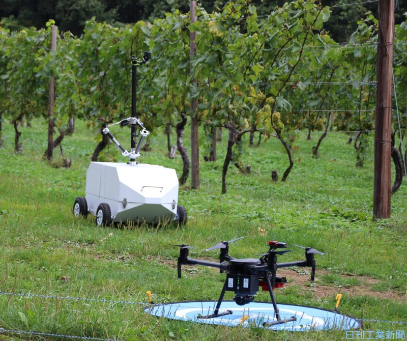 ワイン用ブドウ栽培支援システム 長野の中小、開発へ連携