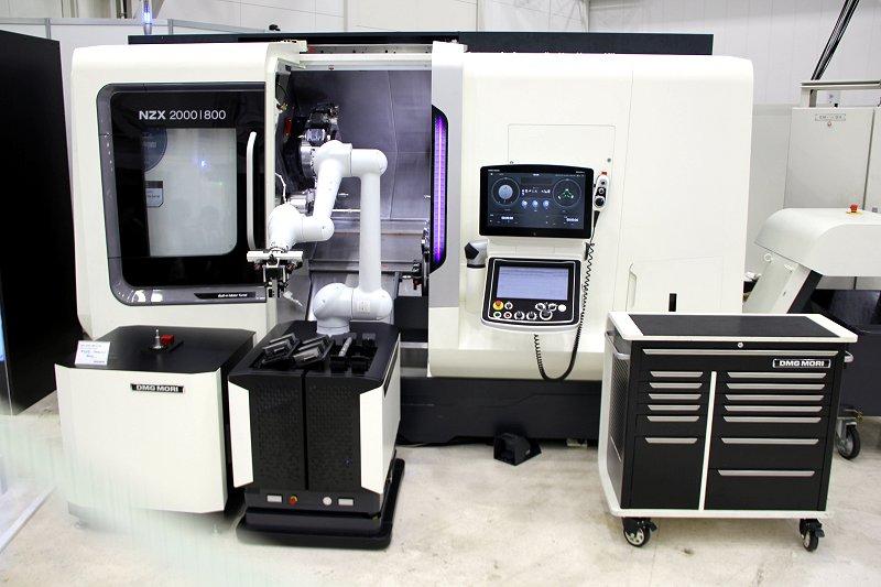 見えてきた自動化工場 工作機械と融合、高度な加工
