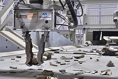 シタラ興産-AI搭載ロボ、産廃選別処理