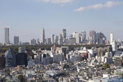 1月末の東京オフィス空室率、0 1ポイント低下の0 9% JLL