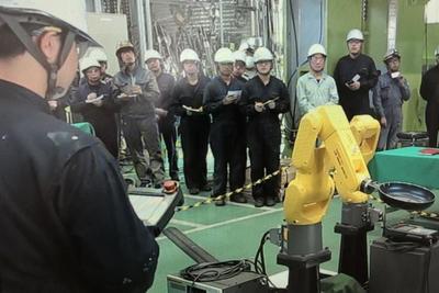 榎本機工、自動化提案を積極化 ロボット技術人材拡充