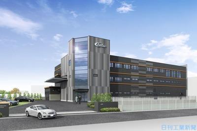 チトセ工業、大阪・八尾に新本社工場 ワーク大型・厚物化に対応