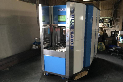 Eプラン、見本市で乾燥機能付き洗浄機を初披露