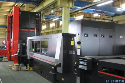 畠山鋼材、一次加工の内製強化 レーザー加工機など導入