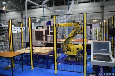 NC木工機械とロボ連動 SHODAがシステム販売