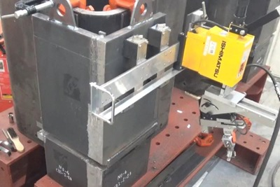 竹中、ロボ溶接に新工法 ボックス柱対応