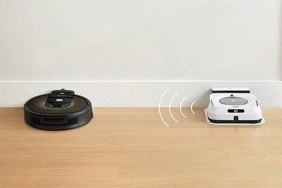 ルンバ900シリーズ、床拭きロボと連携機能追加