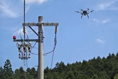 停電復旧にドローン・AI活用 経産省、災害対策有識者会議