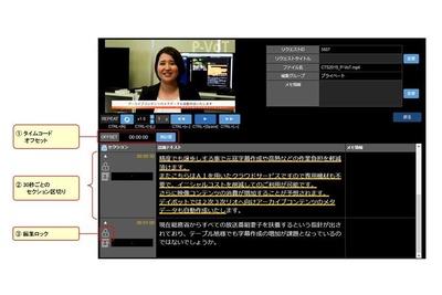 パナソニック、AI活用した文字起こしサービス開始 マスメディア向け