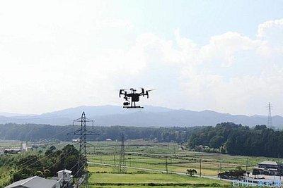 東北電、送電設備をドローン点検 自動撮影・即時送信