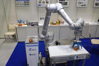 HCI、食品向け協働システム提案 盛り付けなど自動化