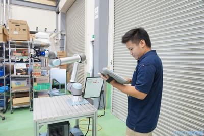 iCOM技研 少量多品種生産にロボ導入支援
