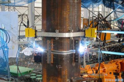 大林組、溶接ロボの現場導入加速 同時稼働16台に倍増