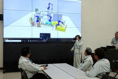 三明機工、バーチャルロボセンター開設 実物大シミュレーション