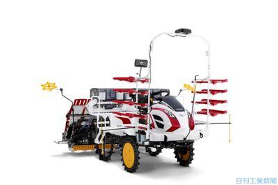 ヤンマーアグリ、自動直進のロボット田植機 シリーズ4機種目