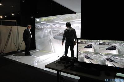 """VR開発""""千変万化"""" 2人同時体験・住宅効率内覧"""