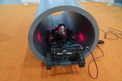 サンリツオートメイション、水中・泥対応の点検ロボ 排水溝・下水管向け