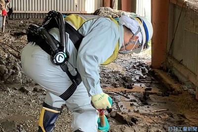 サイバーダイン、地方自治体に「HAL」拡販 災害復旧作業向け