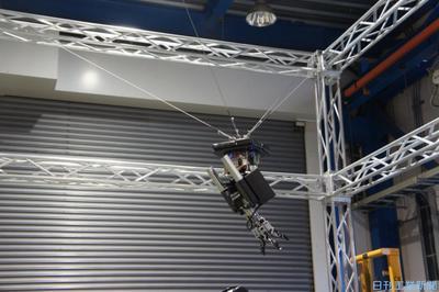 ダブル技研、「空飛ぶ」ロボハンド開発 工場内搬送向け提案