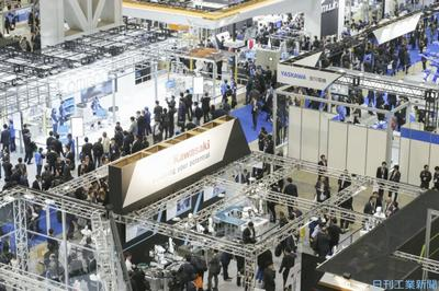 国際ロボ展、きょう開幕 最大規模、637社・団体が出展