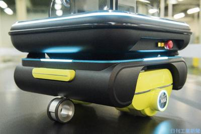 日本精工、車輪ユニットの振動低減 自律移動ロボ向け