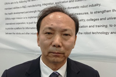 インタビュー/中国ロボット産業連盟執行理事長・宋暁剛氏