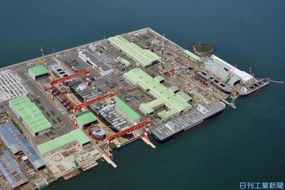 変革2020 業界再編/造船 韓中勢との体力差縮める