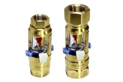 日東工器/水配管の流れ確認 フローモニター