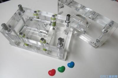 マチココ、樹脂成形講座を4月開講 透明金型で分かりやすく