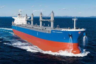 三井E&S造船、バラ積み船引き渡し 長尺物・半製品も運搬
