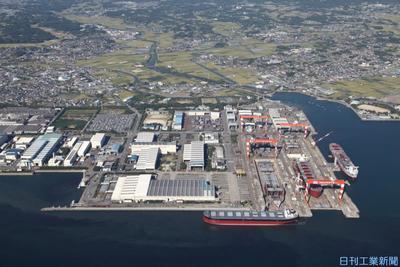 JMU、データ活用推進 国内造船の競争力向上