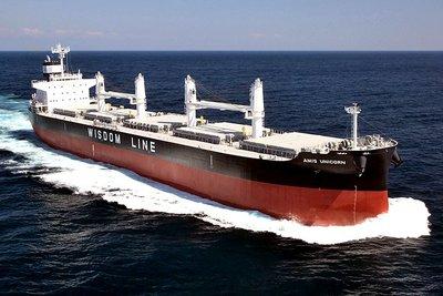 川重、ばら積み運搬船引き渡し