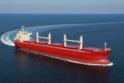 三井E&S造船、バラ積み船引き渡し 6万重量トン型
