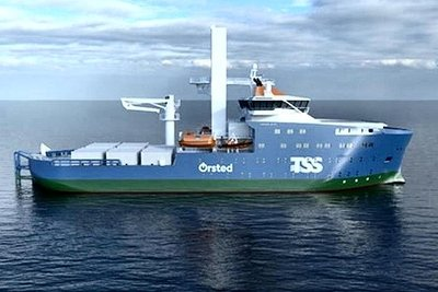 商船三井、メンテ支援船に参入 台湾・洋上風力発電所向け