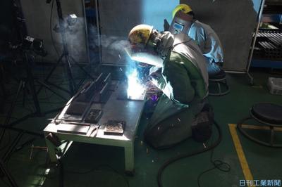 日立建機、溶接作業データ化技術開発 熟練技能の伝承に活用