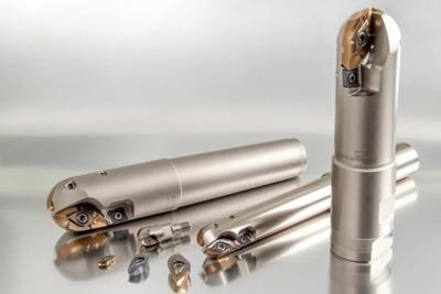 MOLDINO、ねじれ切れ刃でびびり振動抑制 仕上げ用工具
