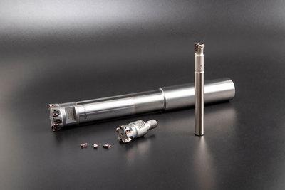 モルディノ、刃先交換式工具 金型構造部を高精度仕上げ